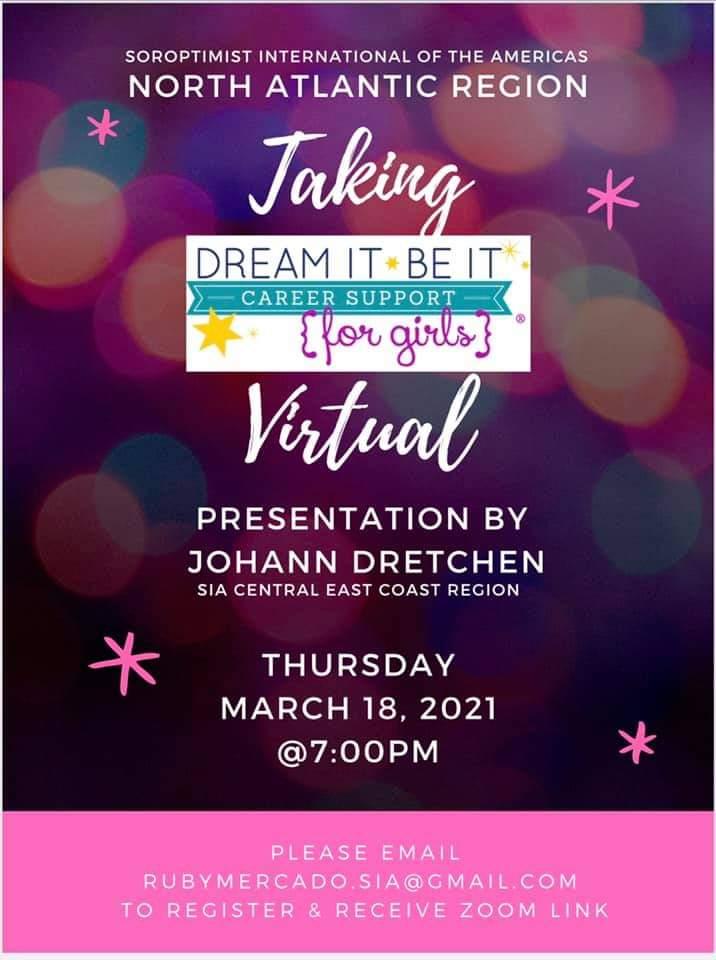 Dream It Be It Virtual Presentation