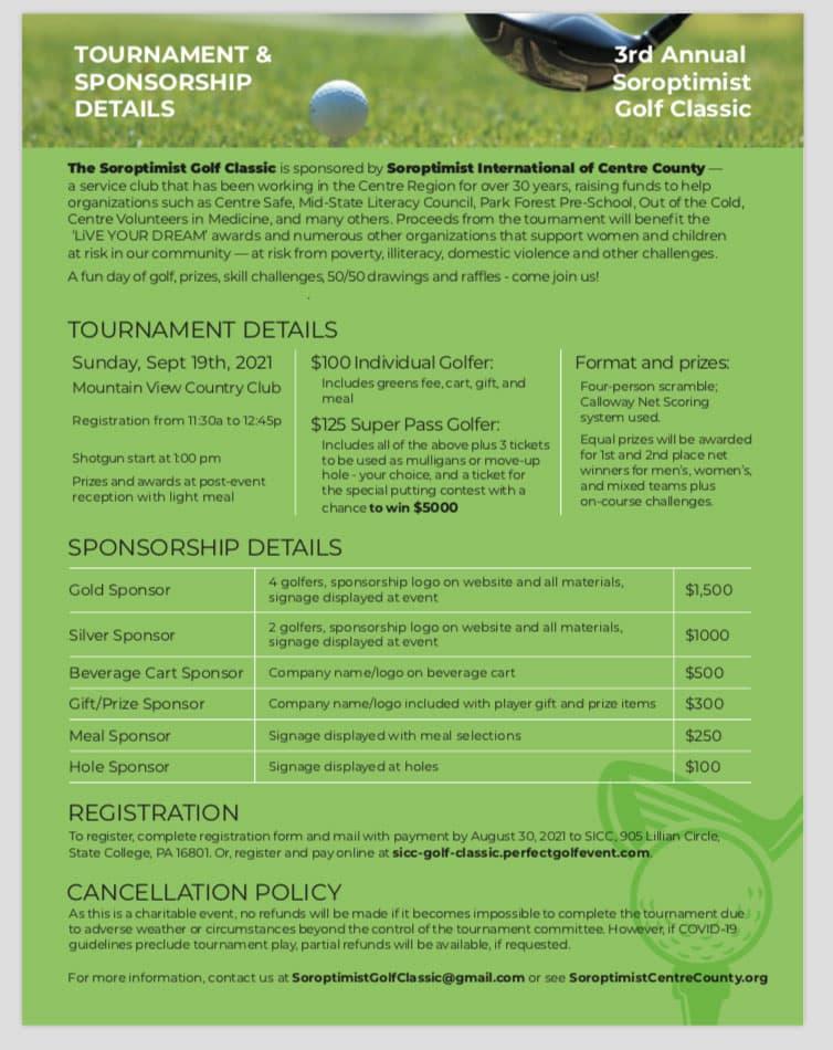 Golf Centre County